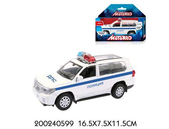 "Машинка Motorro ""Полиция"" 200240599"