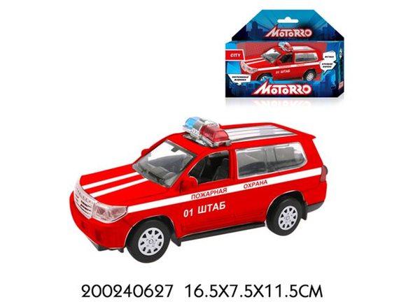 """Машинка Motorro """"Пожарная охрана"""" 200240627"""