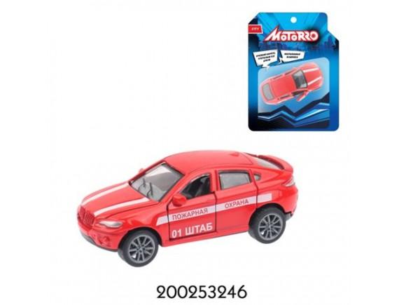 """Машинка  Motorro """"Пожарная охрана"""" 200253246"""