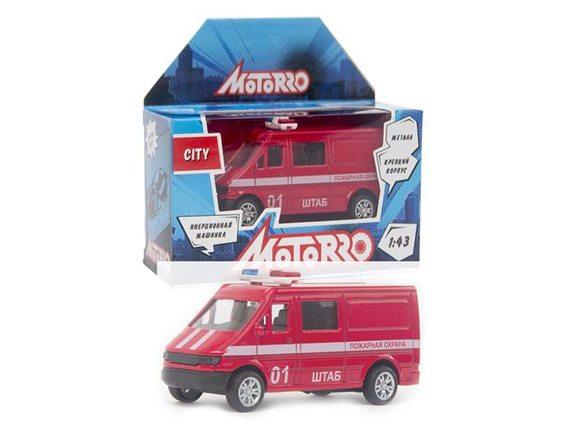 """Машинка Motorro """"Пожарная охрана"""" 200253814"""