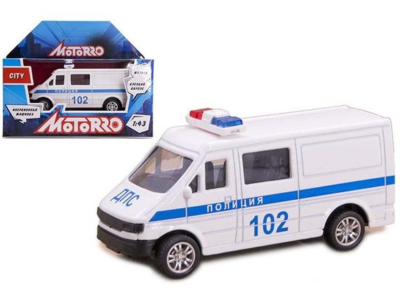 "Машинка Motorro ""Полиция"" 200253833"