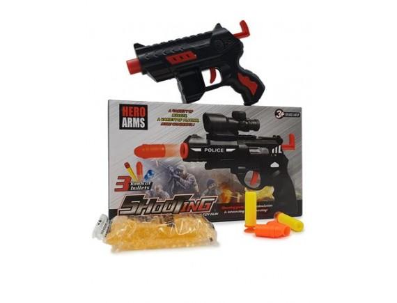"""Игрушка """"Пистолет"""" с мягкими и гелевыми пулями 200307271"""