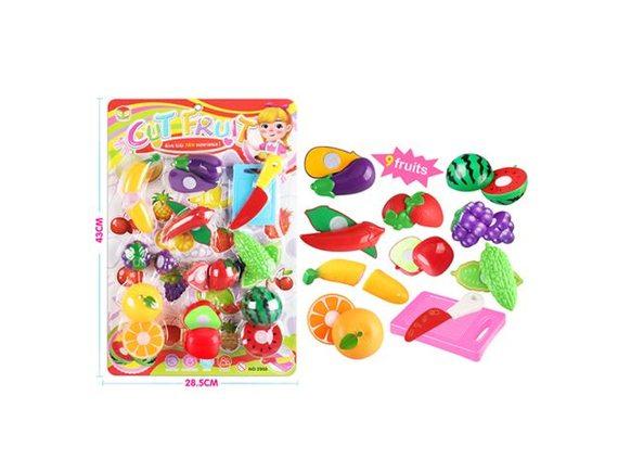 """Игровой набор """"Овощи-фрукты"""" 200379977"""