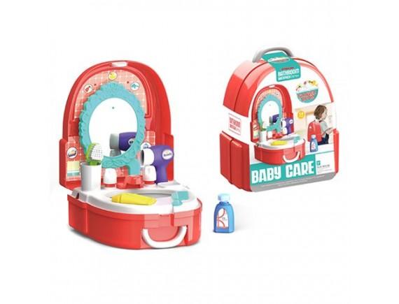 """Игровой набор """"Ванная"""" в пластиковом рюкзаке 200449725"""