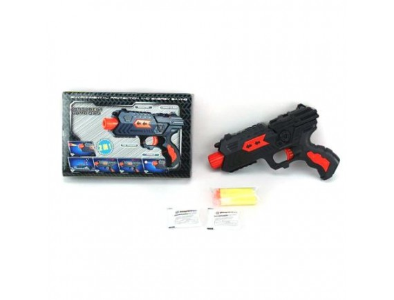 """Игрушка """"Пистолет"""" с мягкими и гелевыми пулями 200498914"""