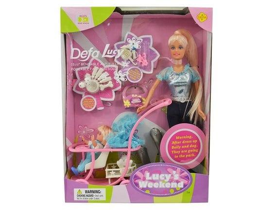 Кукла Defa Lucy с коляской 20958