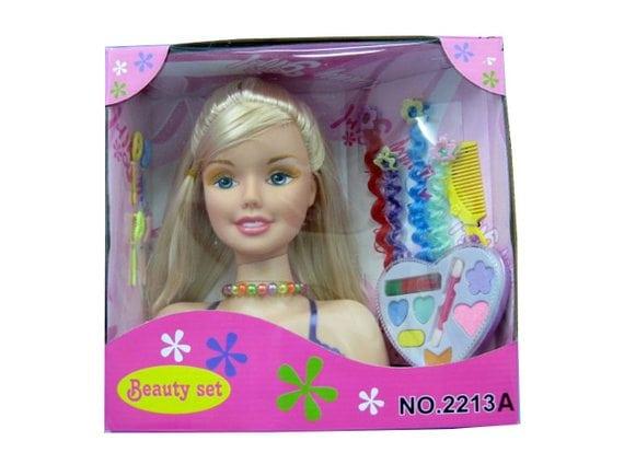 Кукла-манекен для причесок с аксессуарами 2213A