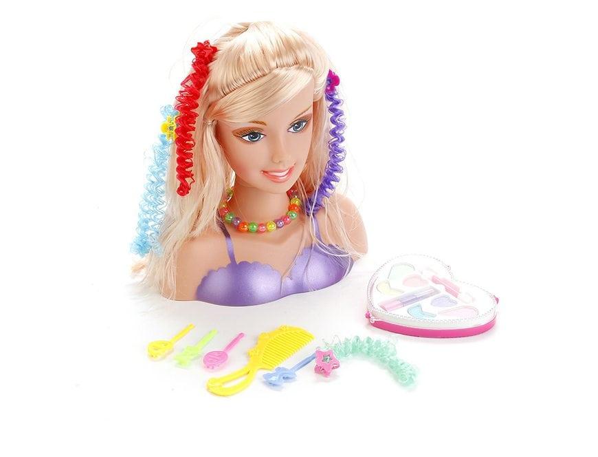 купить манекен куклы с набором косметики