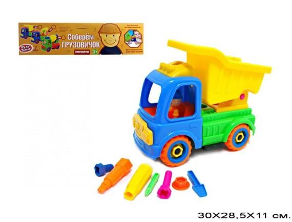 "Конструктор PLAY SMART ""Соберем грузовичок"" 3066"