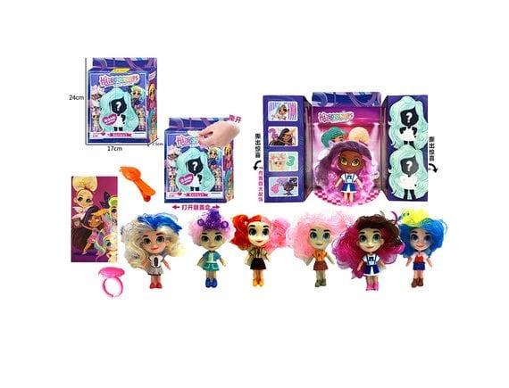 """Кукла-сюрприз Hairdorables """"Cтильные подружки"""" с аксессуарами 33400"""