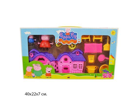 Игровой набор Домик свинки 3689