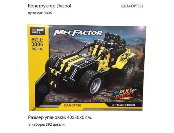 Конструктор DECOOL Technic 3806