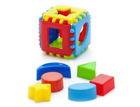 Кубик логический малый 40-0011