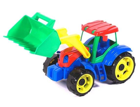 Детский трактор трудяга 40-0064
