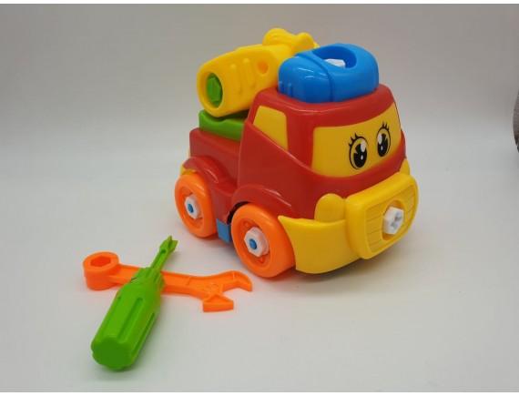 Машина-конструктор 19см. 5677AB