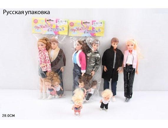 Набор кукол Семья 6120