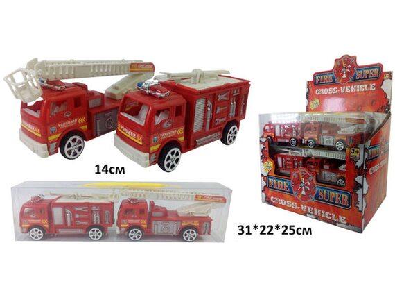 Пожарные машины инерционные (12 шт. в уп.) 62295