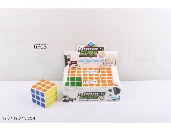 Кубик Рубика (6 шт. в уп.) 668A-5