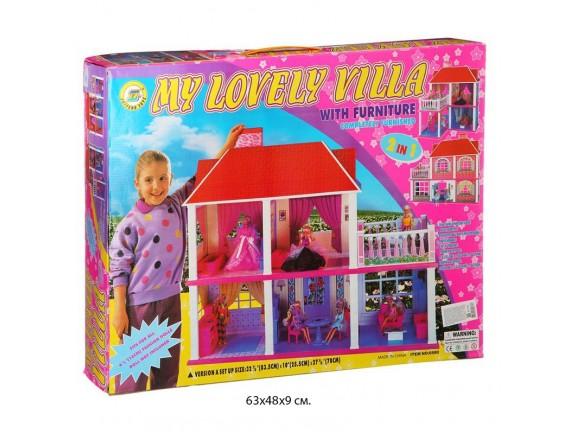 Большой домик для кукол 6980