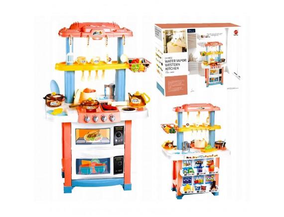 Детская кухня с холодным паром и водой 52 предмета 728A