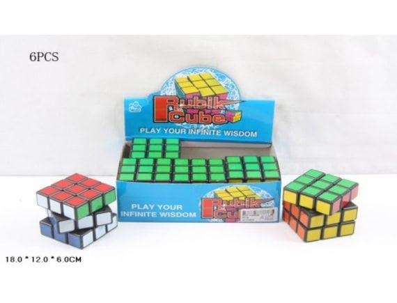 Кубик Рубика (6 шт. в уп.) (цена за уп.) Артикул: 851B
