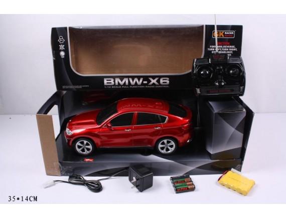 Автомобиль BMW X6 радиоуправляемый LT866-1401B