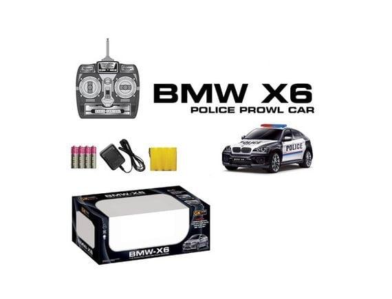"""Автомобиль BMW X6 радиоуправляемый """"Полиция"""" 866-1401PB"""