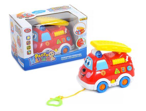 Машинка Play Smart (свет,звук) 9163