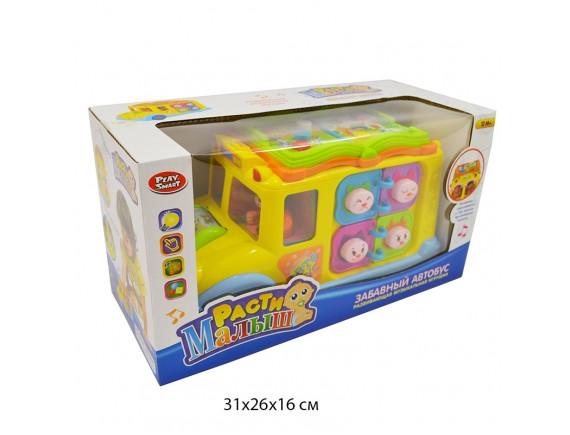 Развивающая игрушка Автобус (свет, звук) 9183