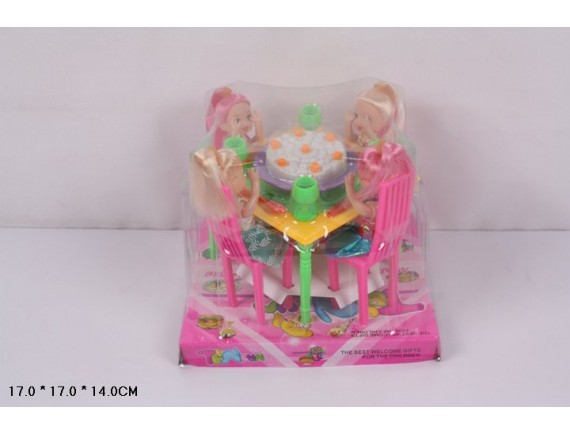Набор кукол Чаепитие 9635
