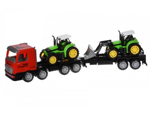 Инерционная машина Тягач с тракторами 98-90