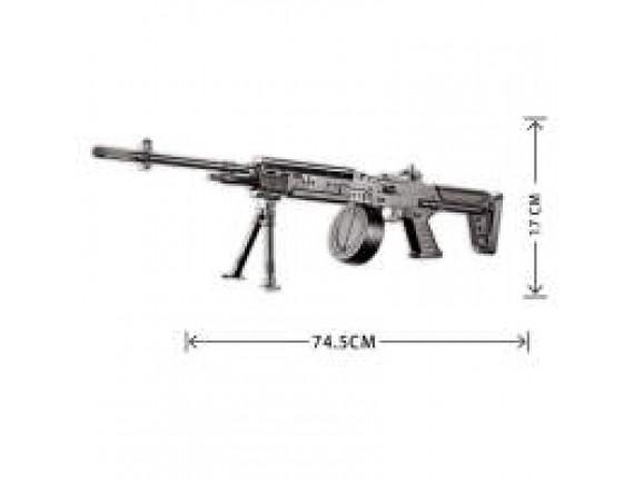 Игрушечный пневматический пулемет 996