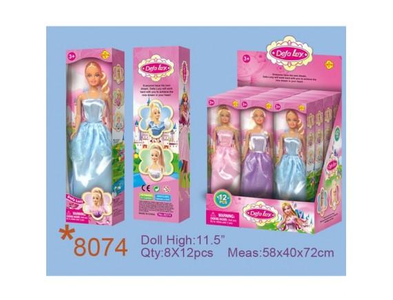 """Кукла """"defa lucy"""" в бальном платье 8074"""
