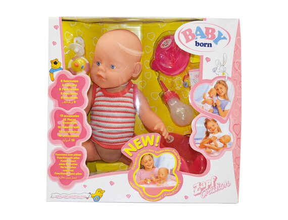 Кукла-пупс с аксессуарами B018