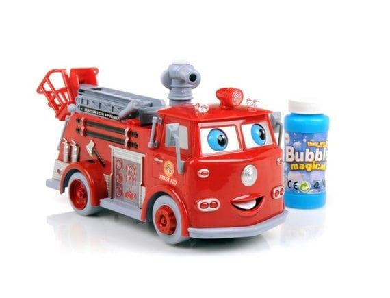 Пожарная машина с мыльными пузырями B838B