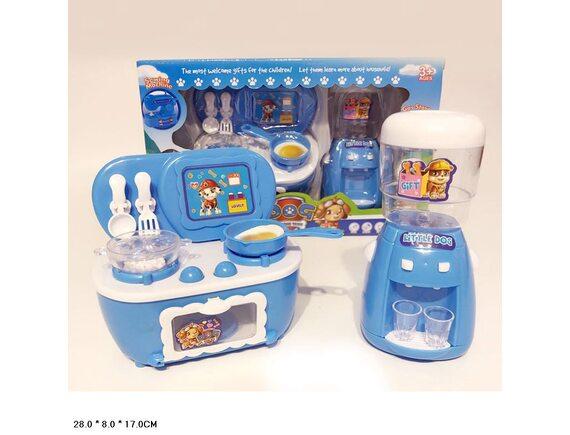 Набор: кулер для воды и игрушечная плита GG1368-30