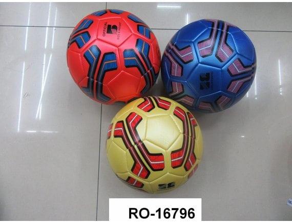 Футбольный мяч 350г 3 вида RO-16796