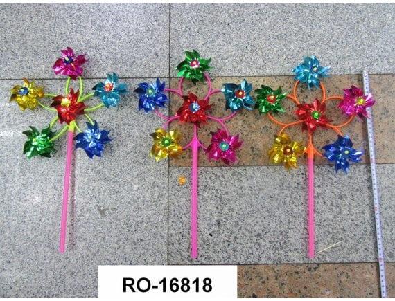 Ветрячок Цветочек 28 см RO-16818
