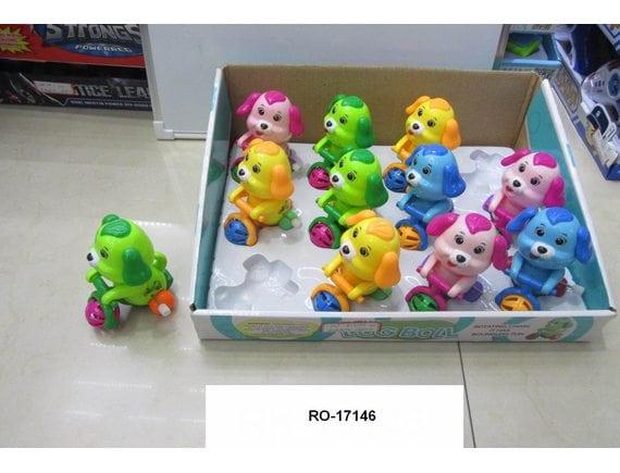 Заводная игрушка Собачка (цена указана за шт., в упаковке 12 шт.) RO-17146