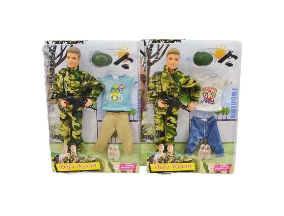 "Кукла ""Военный"" (2 вида) RO-17161"