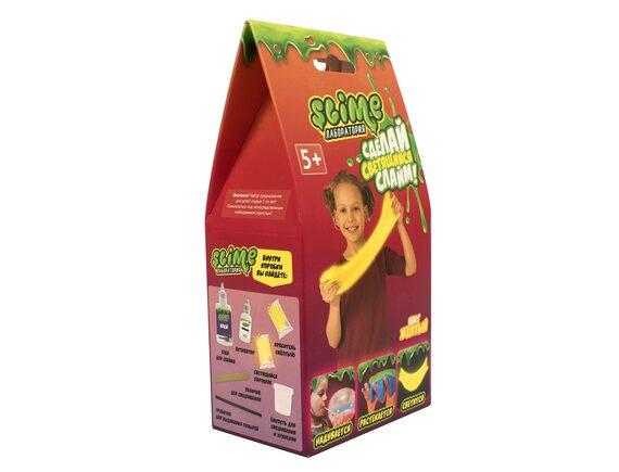 Малый набор для девочек Slime Лаборатория, желтый, 100 гр SS100-1