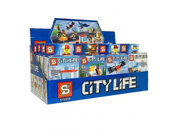 Конструктор City life SY6956