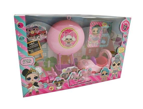 Игровой набор кукла-сюрприз Машина и воздушный шар TM914