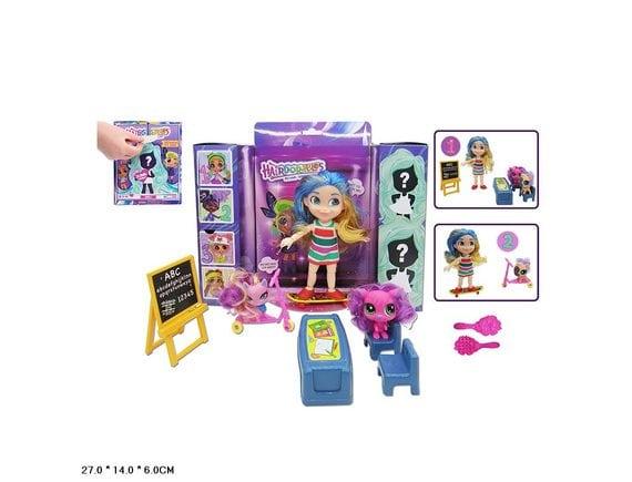 """Кукла-сюрприз """"Стильные подружки"""" с питомцами и мебелью TM920C"""
