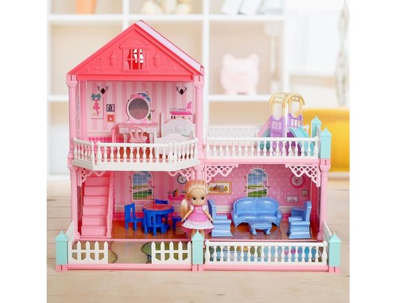 Дом для кукол с аксессуарами VC6013