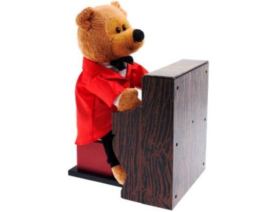 Поющая игрушка Медвежонок пианист YJK6301