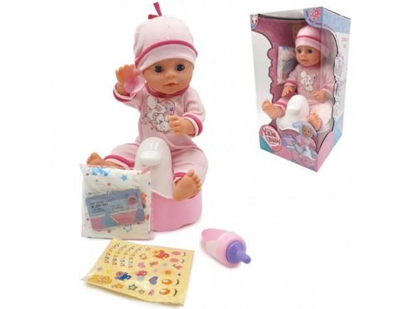 Кукла Пупс с музыкальным горшком YL1823F