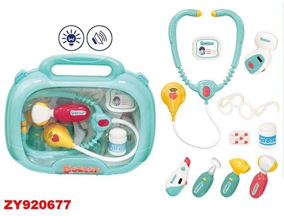 """Игровой набор """"Доктор"""" в чемодане ZY920677"""