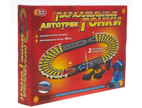"""Игровой набор автотрек Play Smart """"Параллельные гонки"""" LT0808"""