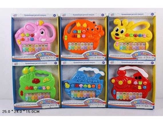 """Развивающая игрушка Play Smart """"Пианино знаний"""" 7252(A,B,C,D,E,F)"""